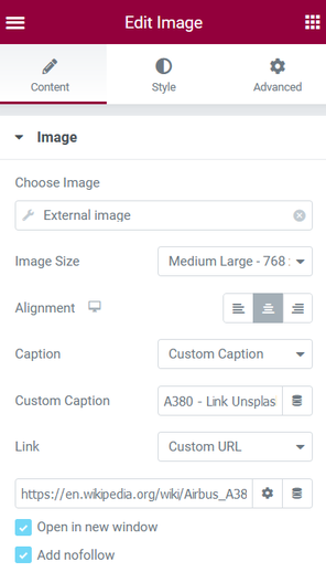 Using image as a link to another page