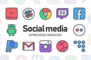 Elementor Dynamic Social Medias