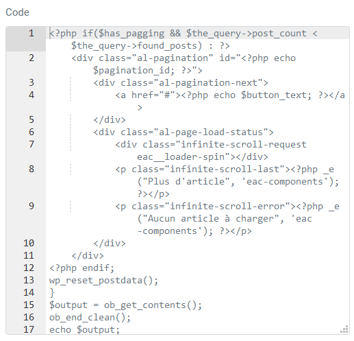 Paste the code for the syntax highlighter
